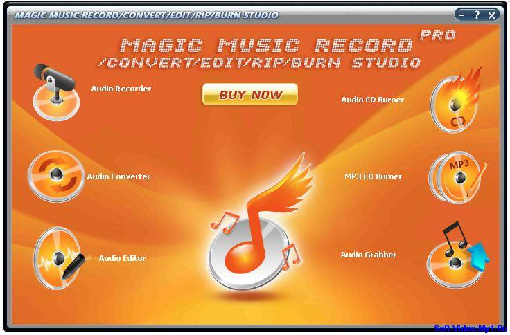 Magic Music Record Edit Rip Burn Studio Pro V7.4.0.10 (Тихая установка) , к